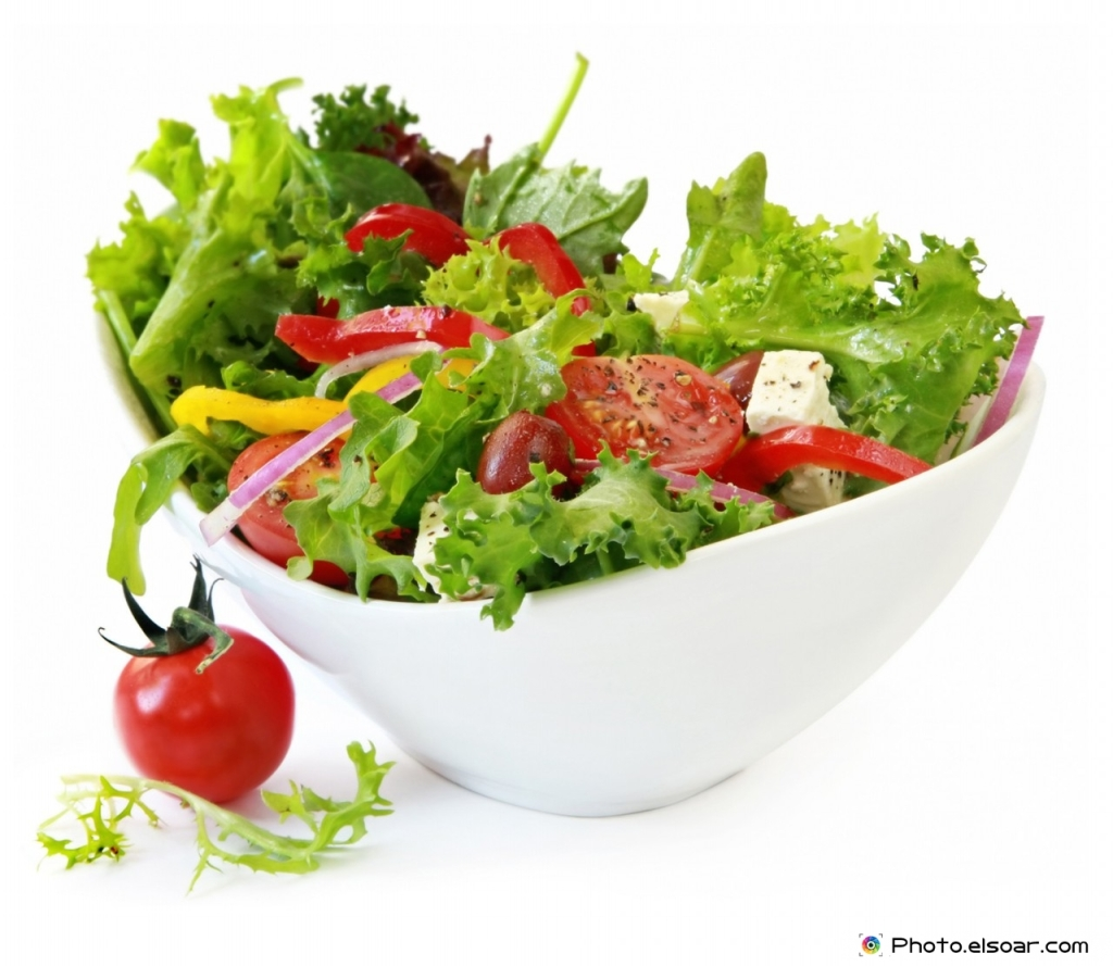 Fresh-green-salad